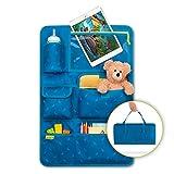 Laleni Organizador Coche 1 Unidad - Protector Asiento Coche - Protector Asiento Coche Niños con Soporte para Tablet