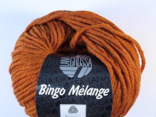 Lana Grossa Bingo Melange 240 - Cognac meliert
