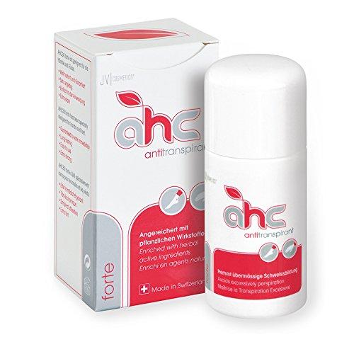 JV Cosmetics - AHC forte Antitranspirant - gegen Schwitzen an Händen und Füßen (30 ml)