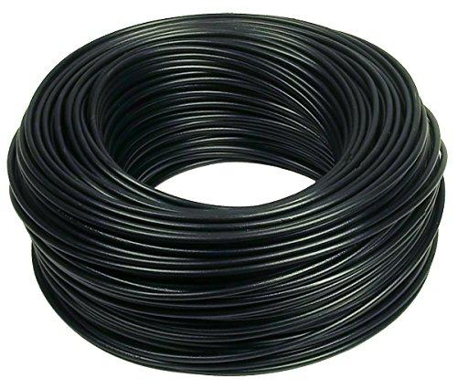 Verdrahtungsleitung H07 V-K 10 mm² - schwarz - 10 m