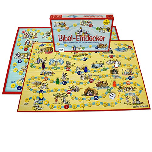 Bordspel bijbel-ontdekker, 2-6 spelers, vanaf 7 jaar