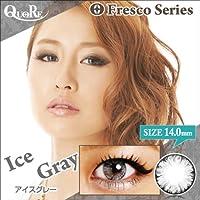 カラコン 度なし 1箱2枚入り QuoRe Fresco Series/ソブレ/119227 14.0mm【IceGray--0.00】