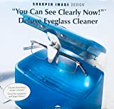 Sharper Image Deluxe Eyeglass Cleaner 'You Can See Clearly Now' (Blue)
