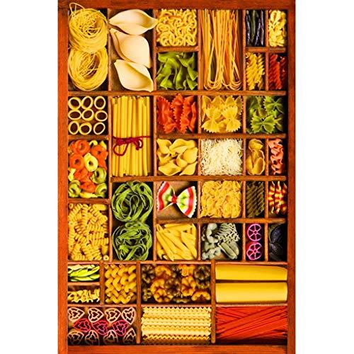 Puzzles 1000 Teile, Essen Platte, Familie Holzspiel Gehirn Herausforderung Puzzle Lustige Spielzeuge Personalisierte Geschenke -P4.27
