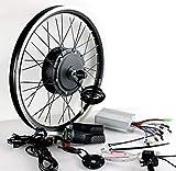 LOO LA Kit de conversión de Rueda Trasera de Bicicleta eléctrica 36V/48V 500W Bicicleta eléctrica Batería Bicicleta Eléctrica Kit de conversión Rueda de Motor Bicicleta Ebike E
