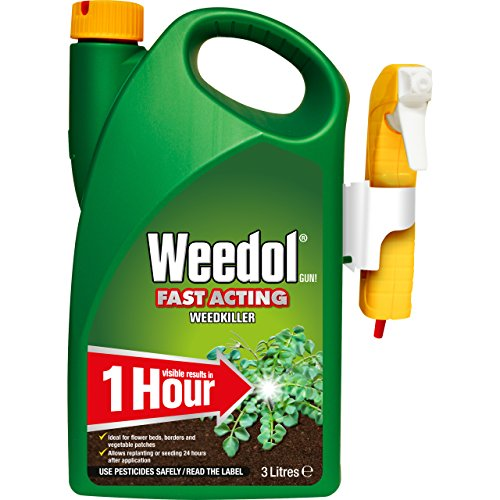 Weedol Fast Acting Weedkiller, Ready to Use, Manual Spray 3 L