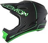 Demon Podium Full Face Mountain Bike Helmet (Black, XL)