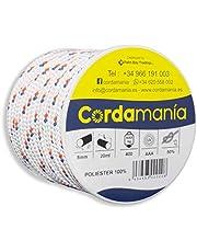 Cordamanía cmde12cddz – touw (8 mm) wit
