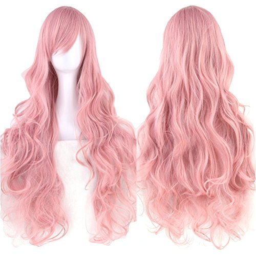 pelucas rosas largas por internet