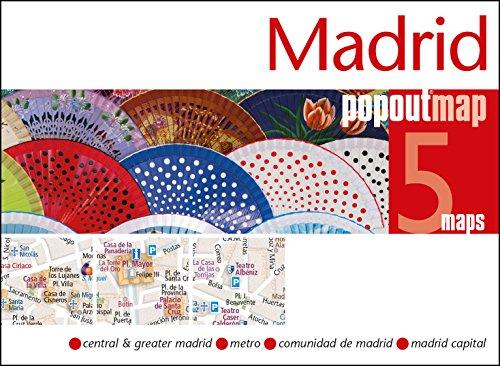 PopOut Map Madrid Double (Popout Maps)