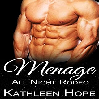 Menage: All Night Rodeo audiobook cover art