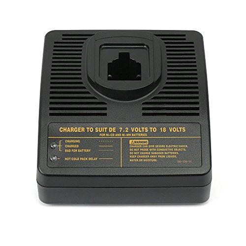 PowerGiant DW9116 Battery Charger for Dewalt 7.2-18V Ni-CD & Ni-MH Pod Style Battery dc9099 dc9098 dc9096 dw9099 dw9098