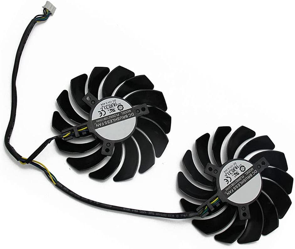 PLD09210S12HH 4Pin Cheap SALE Start RX580 Gifts P106-100 Mining Fan RX 480 MSI for 470