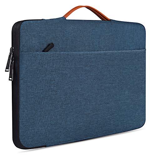 "15.6 inch Water Resistant Laptop Briefcase Bag for HP ENVY X360 15.6 inch/Pavilion 15, Lenovo IdeaPad 15.6, Acer Aspire 5 Slim Laptop, Acer Chromebook 15, DELL, MSI GL63, 15.6"" Protective Notebook Bag Delaware"
