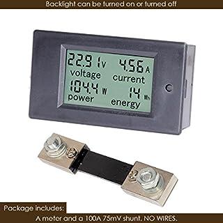 Bayite dc 6.5-100 فولت 0-100A lcd العرض