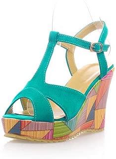 BalaMasa Womens ASL06421 Satin Fashion Sandals