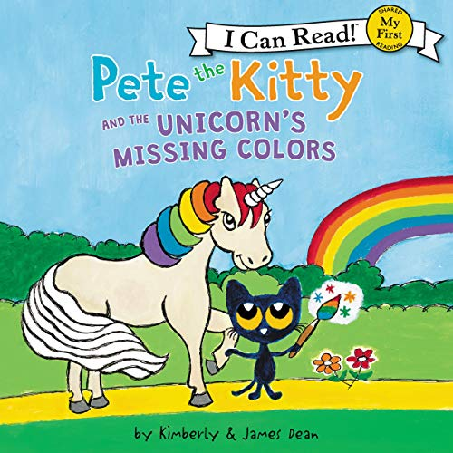 Pete the Kitty and the Unicorn's Missing Colors cover art