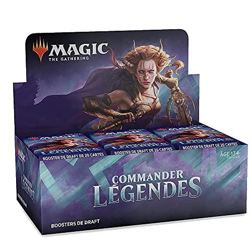 Magic: The Gathering - Caja de Boosters de Draft Commander Légendes