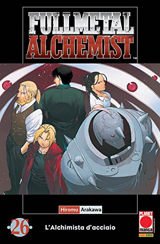 Fullmetal Alchemist: l'alchimista d'acciaio 26 – seconda ristampa