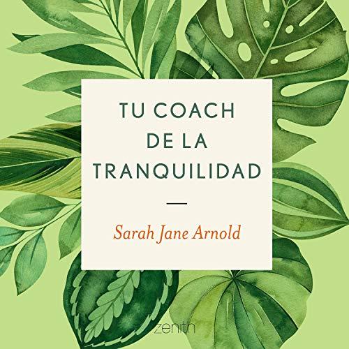 Diseño de la portada del título Tu coach de la tranquilidad