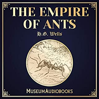 The Empire of Ants audiobook cover art