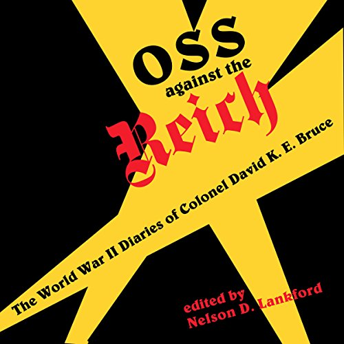 OSS Against the Reich audiobook cover art