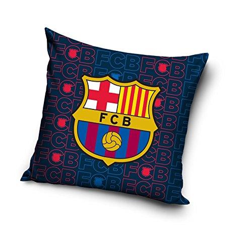 FC Barcelona equipo de fútbol 100% algodón decorativo funda para cojín funda de almohada de decoración para el hogar