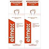 elmex protezione carie collutorio, proteggete i denti contro le cari, con fluoruro amminico, 2 x 400 ml, 956 g
