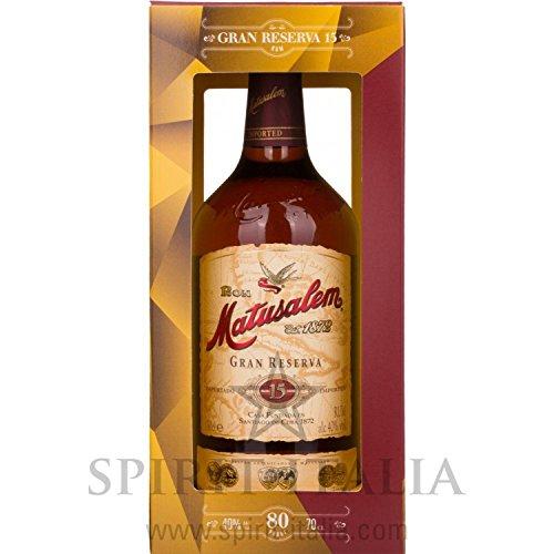Ron Matusalem Gran Reserva Rum 15 Anos GB 40,00 {31f6ea0d29f50f2029fec523d664c7222f5dd09f1ef80efe1c4a791b07247c66} 0.7 l.