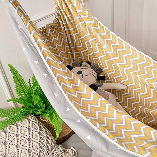 N/A Baby bed schommel elastische hangmat Baby bed baby hangmat schommel baby schommelstoel binnen en buiten opknoping mand kinderhangmat schommel Draagbare baby hangmat