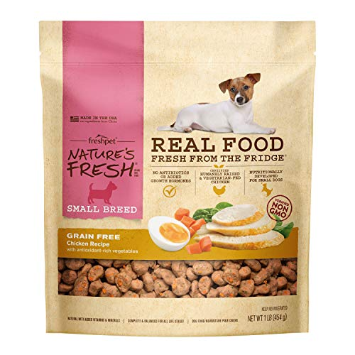 Freshpet, Dog Food Refrigerated Small Breed Chicken Recipe, 16 Ounce