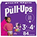 Pull-Ups Girls' Potty Training Pants Training Underwear Size 5, 3T-4T, 84 Ct from Kimberly-Clark Corp.