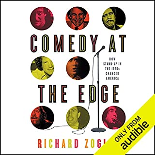 Comedy at the Edge audiobook cover art