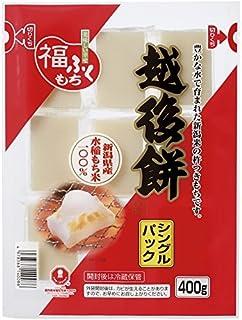 Japanese Rice Cake Echigo Mochi Kiri-mochi 100% Niigata's glutinous rice 400g