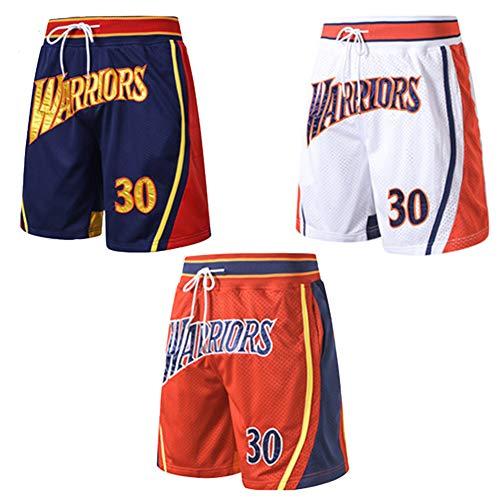 Negro S-XXL Size : S G/&F Swingman Baloncesto Pantalones Cortos Houston Rockets Ropa Deportiva Sueltos Transpirables Secado R/ápido Shorts
