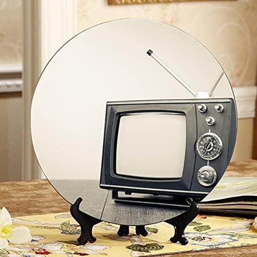 ALALAL Max 88% OFF Retro-Vintage Orange Large discharge sale Tv Fun Ceramic Decorative Plates Pla
