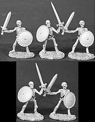 Skeletons w/Swords & Shields MINT/New