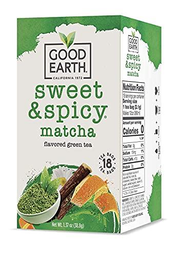 Good Earth Matcha Maker Green Tea, 18 Count Tea...