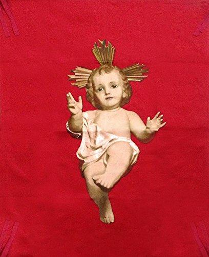 MovilCom® - Colgadura del Niño Jesús para Navidad   Bandera Niño Jesús, 105cm x 75cm,