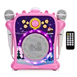 EARISE T29 Karaoke Machine for Kids Girls with Voice...