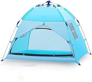 HYJBGGH Tält för barn, popup-tält automatisk stående tält för barn, picknicklekhus utomhus, kupoltält för vattentät campin...