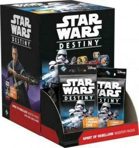 Star Wars Destiny TCG: Spirit of Rebellion Booster Box