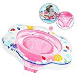 Baby Schwimmring Aufblasbare Schwimmhilfe mit Schwimmsitz aus PVC für Kleinkind 6 Monaten bis 3...
