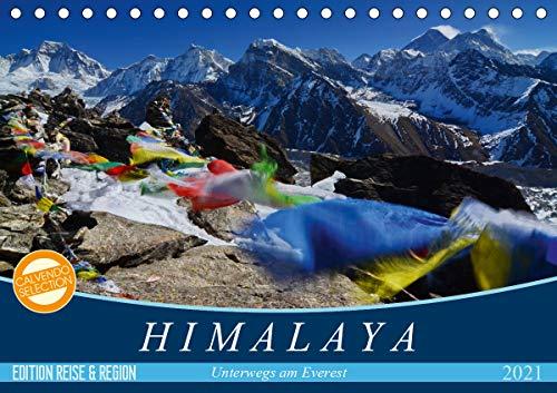 Himalaya (Tischkalender 2021 DIN A5 quer)