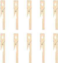 Tenedor de madera de la abrazadera del tubo de ensayo 10pcs para la herramienta de prueba del equipo de laboratorio