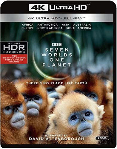 Seven Worlds, One Planet (4K Ultra HD + Blu-ray)
