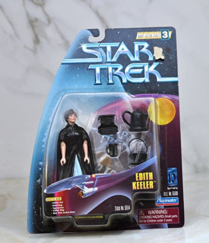 PlayMates Edith Keeler The City on The Edge of Forever - Actionfigur Star Trek Classic Warp Factor Series