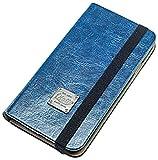 QIOTTI Book Slim Classic - Funda para LG G2, azul