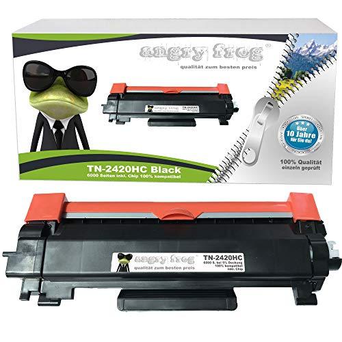 AngryFrog XXL Toner kompatibel MIT CHIP für Brother TN-2420 TN-2410 TN2420 HL-L2310D/2350DW/2357DW/2370DN/2375DW DCP-L2510D/2530DW DCP-L2537DW/2550DN MFC-L2710DN/2710DW/2730DW/2750DW- 6000 Seiten