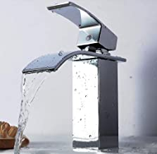 New Four-sided Large Diameter Waterfall Faucet for Easy Cleaning, Corrosion Resistance and Non-fading for Long Life In Kit...